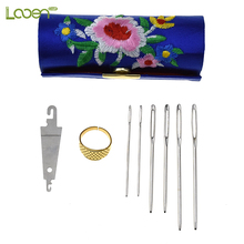 9 Pcs/lot Big Eye Blunt Needles Mix 3 Size Long Large Hole NOT Sharp Sewing Knitting Embroidery Tools For Women DIY