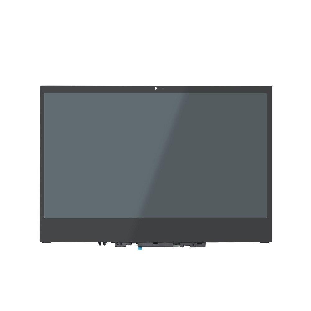 D'origine UHD IPS écran lcd Panneau D'affichage Tactile verre numériseur Assemblée + Cadre pour Lenovo Yoga 720-13IKB 80X6 Soutien Actif stylo