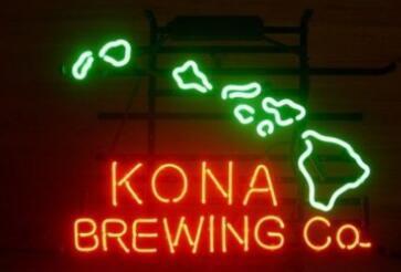 Custom Kona Brewing Neon Light Sign Beer Bar