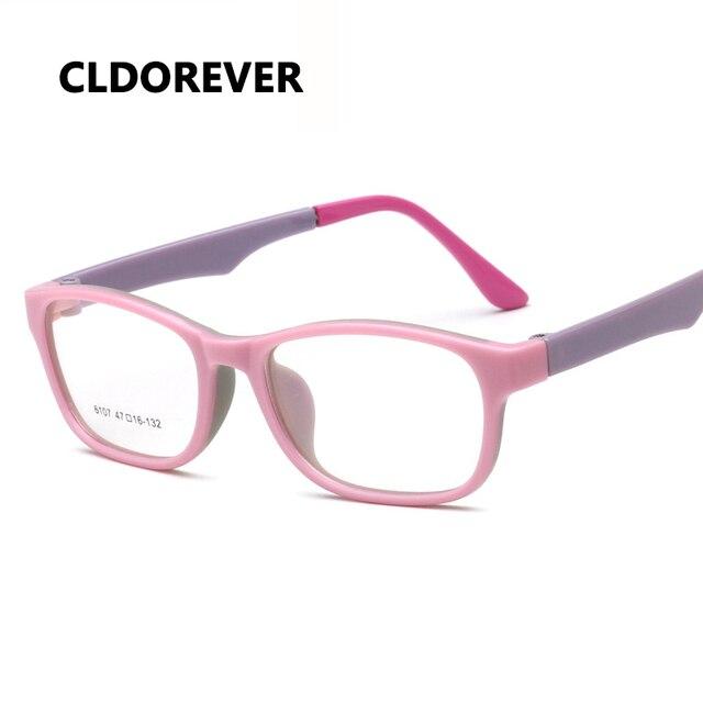 4c1fe5be1d Kids Optical Eyeglasses TR90 Silicone Safe Flexible Spectacle Glasses Frame  Child Boy Girl Myopia Prescription Eyeglass