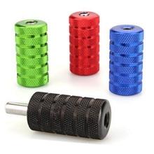 Multicolor 25mm 4pcs Non-slip Aluminum Alloy Tattoo Machine Grip with Tube Supply — TSB069