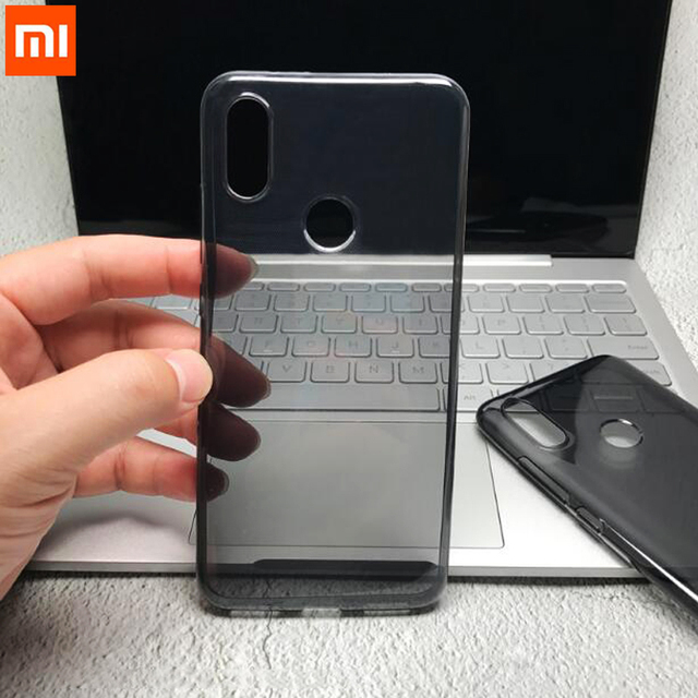 Originele Xiao mi mi 8 case xiao mi Mi 8 se clear back COVER Mi A2 soft tpu beschermende CAPAS Mi 6X telefoon fundas black case mi A2