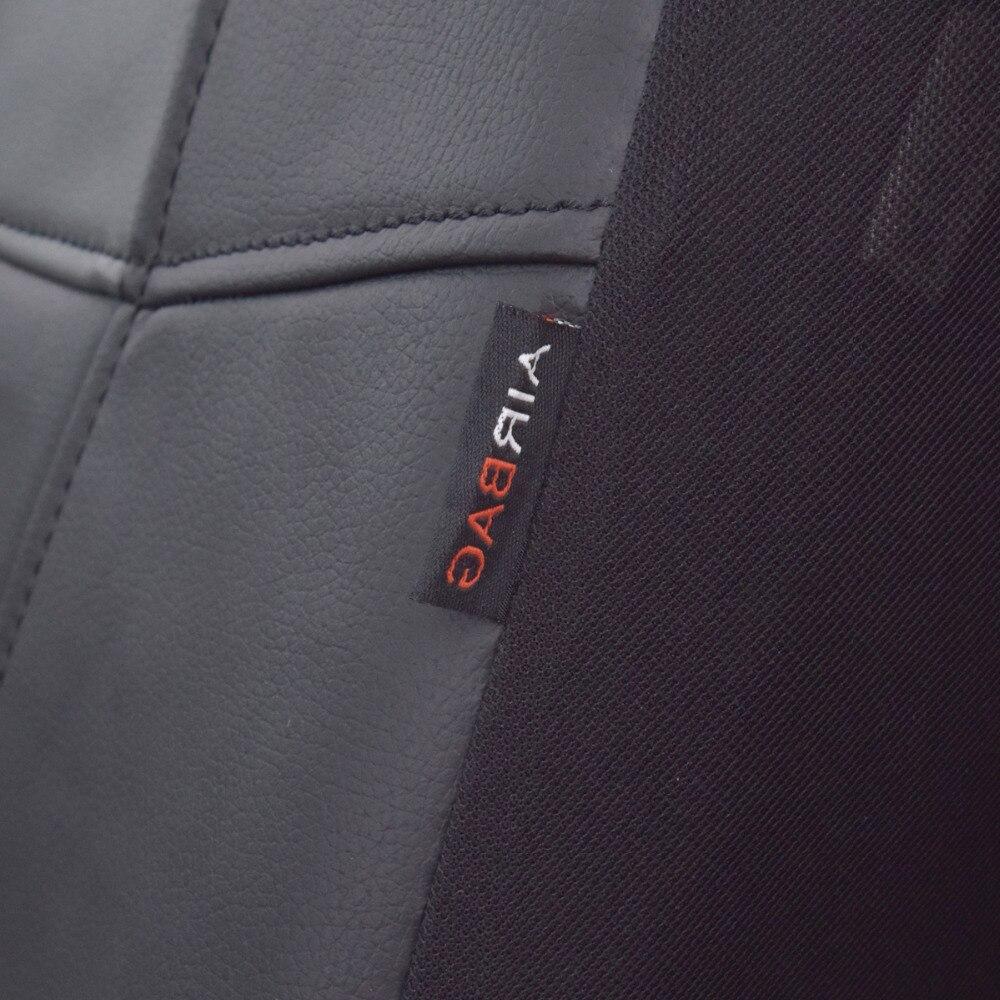 Högkvalitets PU Läder Bilstolsöverdrag Universal 8 färger Bilar - Bil interiör tillbehör - Foto 4