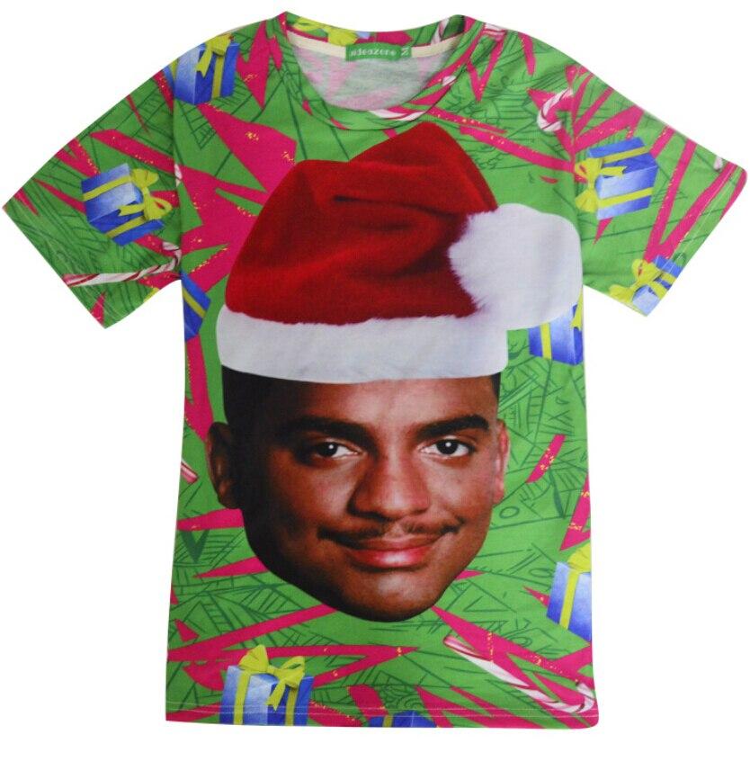 2018 new fashion Carlton T-Shirt hip hop 3d t shirt women/men graphic tshirt funny Christmas tee shirt harajuku clothes