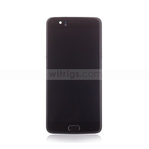 Image 4 - Witrigs For OnePlus 5 LCD Display Touch Screen Digitizer Assembly Replacement with Frame Fingerprint Scanner