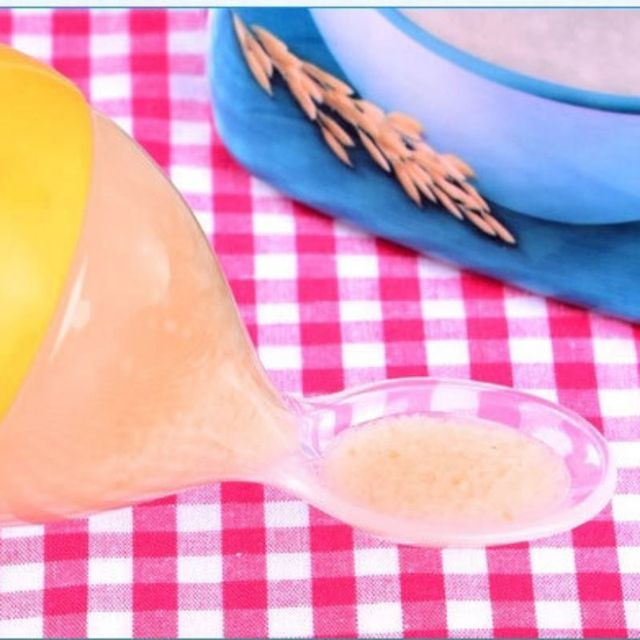 Infant Silica Gel Feeding Bottle With Spoon Food Supplement Rice Cereal Bottle  5