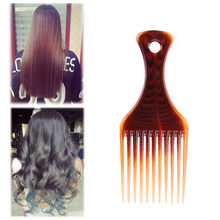 Health and Beauty Afro Comb Curly Hair Brush Salon Hairdressing Styling Long Tooth Styling Pick Hair Styling Tools C0828(China)