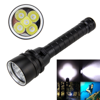 15000Lm XM L T6 LED Scuba Diving Flashlight Lamp Torch By 18650 Lamp Waterproof 100m