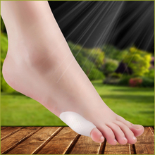 1 пара Уход за ногами маленький палец галлюс вальгус палец ноги разделители маленький палец подтяжки каждый день маленький силиконовый консилер для пальцев ног Педикюр