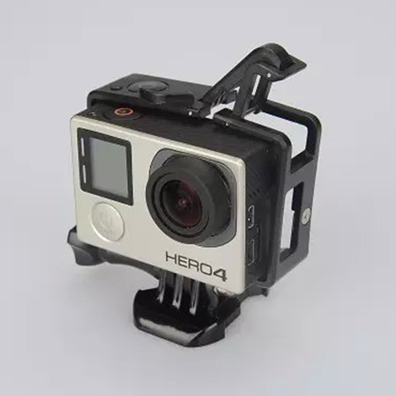 product New Gopro Hero 3/3+/4 Standard Frame Gopro Standard (Camera+LCD BacPac/Battery BacPac) Shell Go Pro Accessories Shell Cover Case