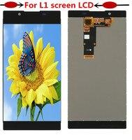 Display LCD originale per Sony Xperia L1 G3312 touch screen da 5.5 pollici Digitizer Sensore di Montaggio del Pannello da 5.5 pollici G3311 G3313-in Schermi LCD per cellulare da Cellulari e telecomunicazioni su