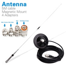 Nagoya NL 770R Dual Band VHF/UHF 144/430MHz 3.0/5.5 dBi High Gain NL 770R Car Radio Mobile/Station Antenna UHF/SL16 J/M MaleType