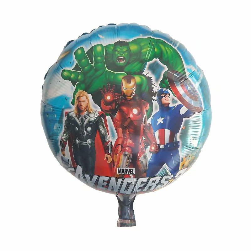BATMAN Foil Balloons AVENGERS MARVEL HEROES G Shower Birthday Party Supplies lot