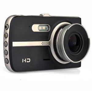 Image 3 - Schermo Hd 1080 p Dual Lens Auto Dvr Videocamera per auto Registratore 32g di Visione Notturna Registratore Portatile G sensor Drive video Macchina Fotografica del Precipitare