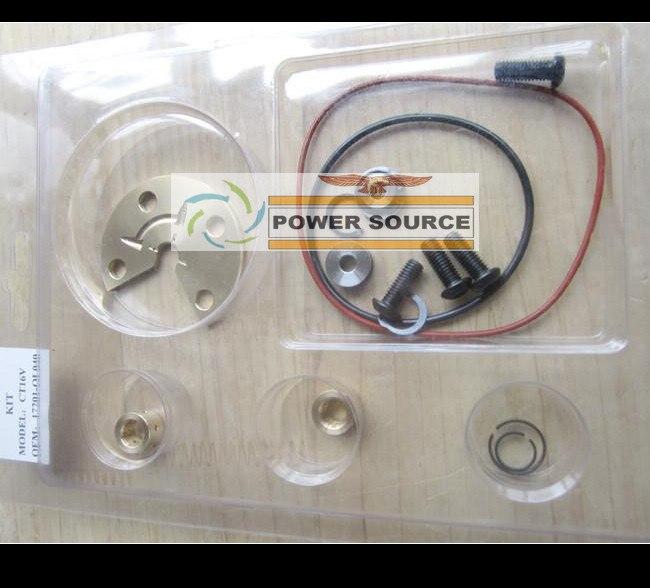 Turbo Repair Kit Rebuild GT17 721164 17201 27040 Turbocharger For TOYOTA RAV4 Auris Avensis Picnic Previa 1CD FTV 1CD 021Y 2.0L