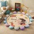 Algodón sun flower dormitorio decorativo de la sala de niños gateando alfombra game pad regalo de dibujos animados bebé manta muselina swaddle