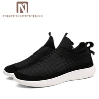 NORTHMARCH Men Shoes 2018 Fashion Men Sneakers Brand Mesh Shoes High Quality Breathable Slip On Summer Casual Shoes For Men