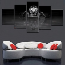 Canvas Wall Art Home Picture 5 Pieces Paintings Modern Decor Living Room Death Note Movie