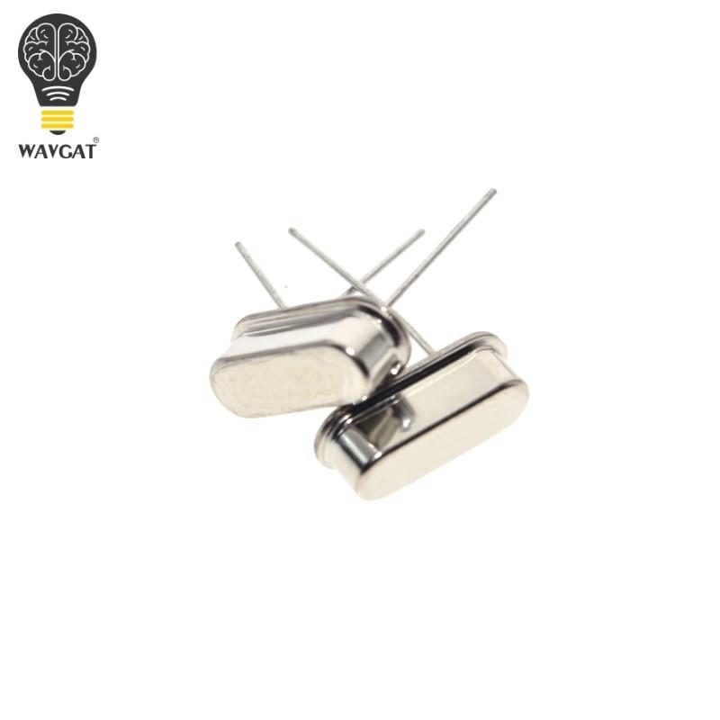 10pcs 16.000M 16.000MHZ 16MHz 16 MHZ Quartz Crystal Resonator Passive Oscillator HC 49S New WAVGAT