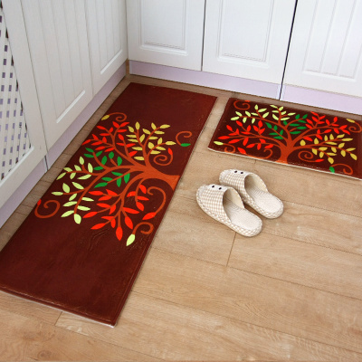 508045120cm Anti Slip Kitchen Carpet Set Home Room Mat Living