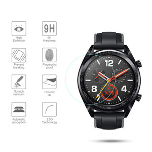 Image 2 - 2pcs For Huawei Watch GT GT2(46mm) /GT Tempered Glass Screen Protector Protective Film Guard Anti Explosion Anti shatter