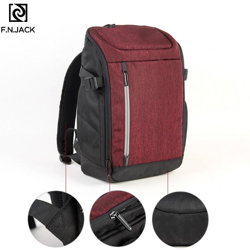 F. n. JACK Neue Reise Rucksäcke Freizeit Schulter Tasche für Männer und Frauen Business Multifunktionale Rucksack Student Rot Bagpack 2019