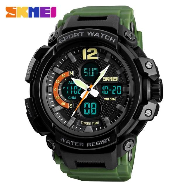 fba76f73b99 SKMEI 50M Waterproof Digital Fashion Watches Outdoor Sport Men Wristwatches  Erkek Saat Fashion watch Relogio Masculino
