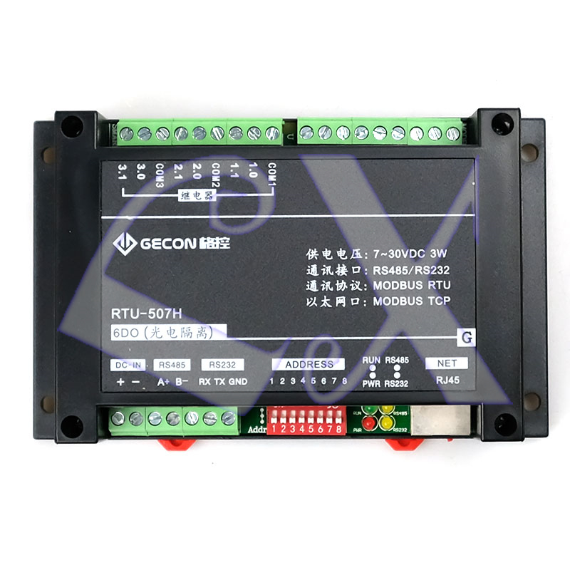 6do Normally Open Relay Control Output Module 220v 5a Contact Capacity Device Modbus Rtu&tcp Ethernet Rs485 Rs232 Distinctive For Its Traditional Properties Connectors