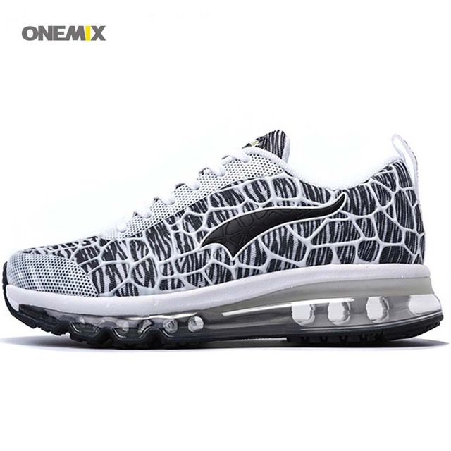 ONEMIX 2017 air cushion running shoes Men's 360 train walking outdoor Lace-Up Athletic free Mesh sport breathe jogging sneaker