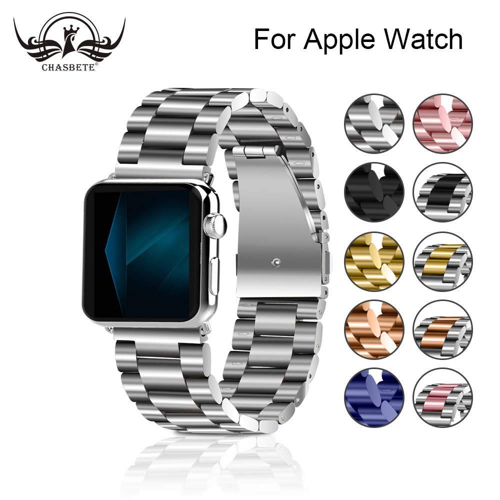 Stainless Steel Watchband For Apple Watch band series 4