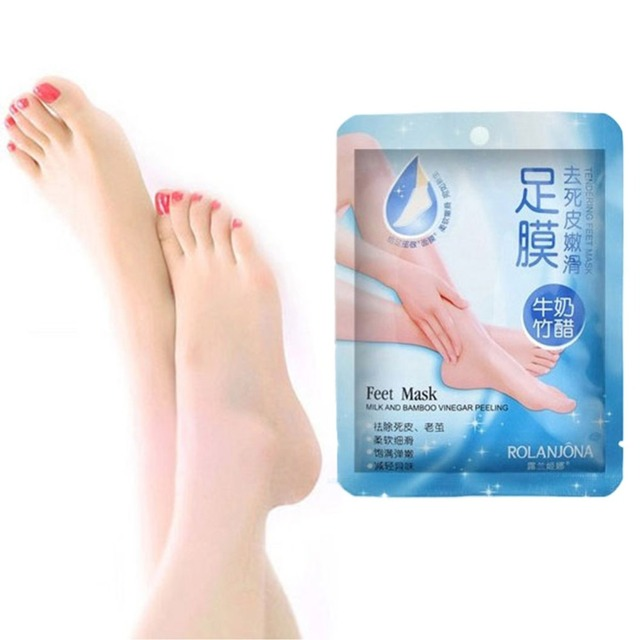 1 pair Super Exfoliating Foot Mask Socks For Pedicure exfoliator socks feet Care for Dead remover Skin New