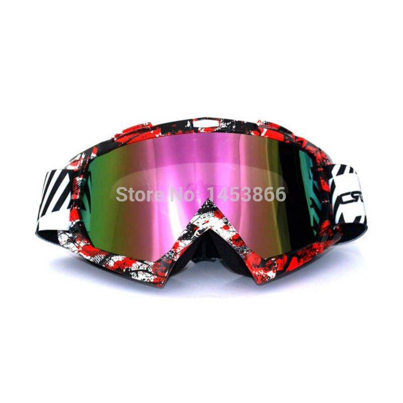 Adult Goggles Dirt Bike Glasses Eyewear Racing ProtectG Graffiti Tinted Len