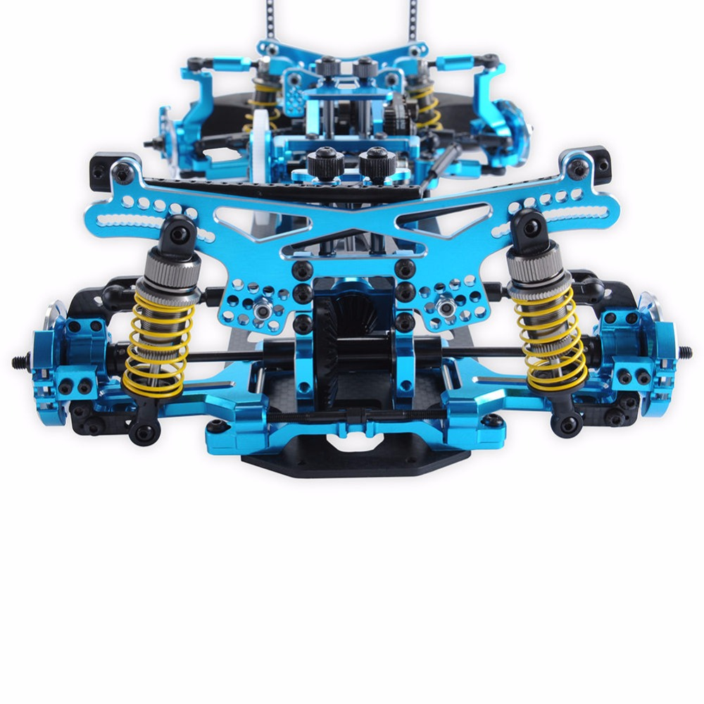 1/10 scale G4 Alloy Carbon & Fiber 1:10 Rc Drift Car Frame Kit For ...
