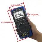 Multímetro Digital de HoldPeak HP 770D rango automático de alta precisión True RMS 40000 cuentas NCV corriente de voltaje CC ohmios probador - 5