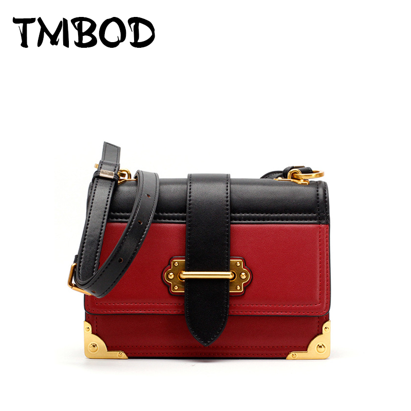 New 2018 Design Women Retro Small Flap Messenger Bag Panelled Split Leather Handbags For Female Shoulder Bag bolsas an960 2017 fashion all match retro split leather women bag top grade small shoulder bags multilayer mini chain women messenger bags