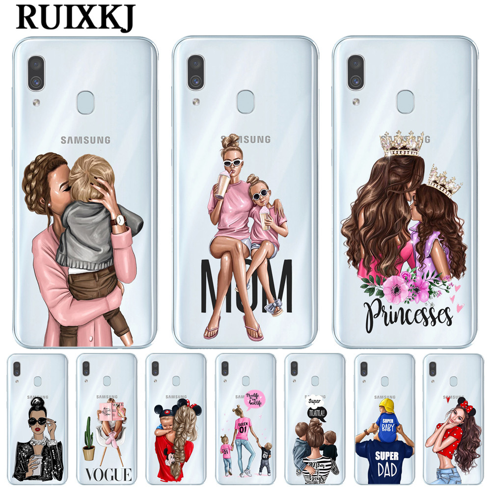 VOGUE Queen Princess Girl Female boss coffee Soft Silicone TPU phone Case Foramsung Galaxy A10 A20 A30 A40 A50 A70 Cover Coque image