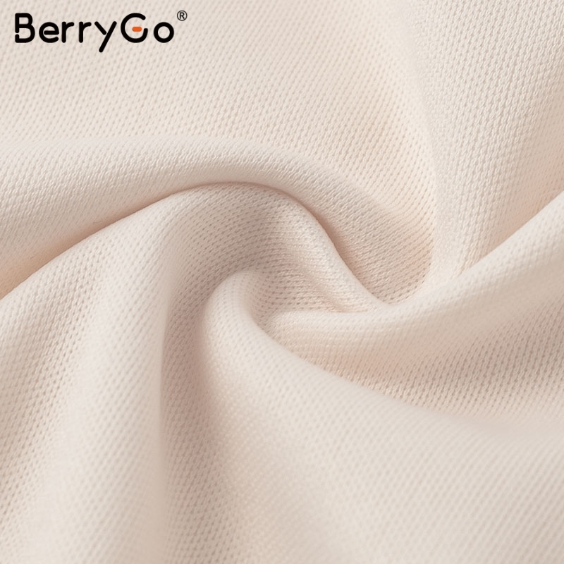 BerryGo Women white lace dress party spaghetti strap Embroidery ruffle sexy dress V-neck hollow out summer dresses ladies 19 16