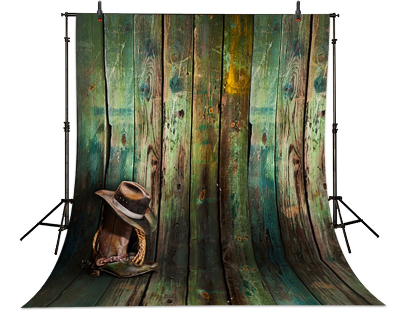 Dallas Cowboy Hat Wood photography studio background High-quality Vinyl cloth Computer printed wood backdrop dinosaur photography background high grade vinyl cloth computer printed newborn backdrop
