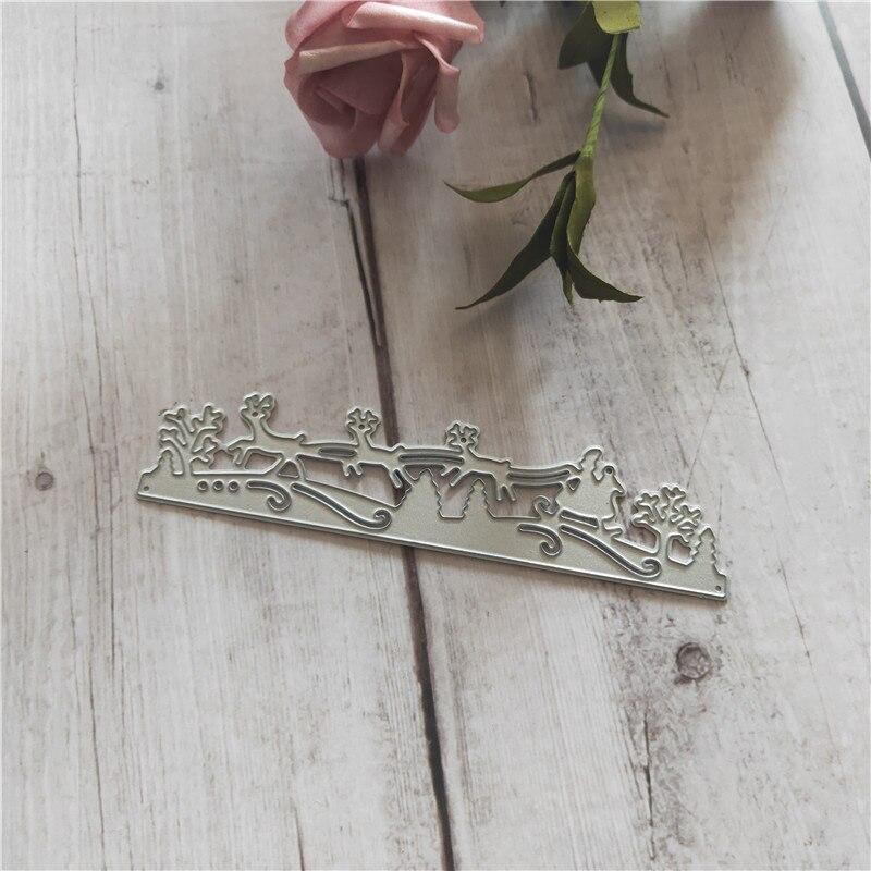 Die Cutting Metal Mold Dies 3D DIY Scrapbooking Card Holder Embossing Folder Template