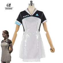 ФОТО rolecos game detroit: become human cosplay costumes kara ax400 cosplay women cosplay costumes game cosplay game uniform