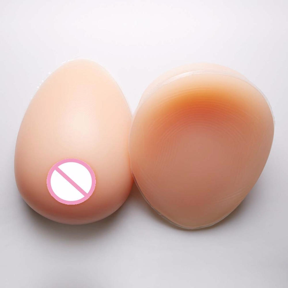1800g 1 pair F cup 100% ivita silicone realistic silicone breast forms Artificial silicone fake Breast Boobs for men travesti