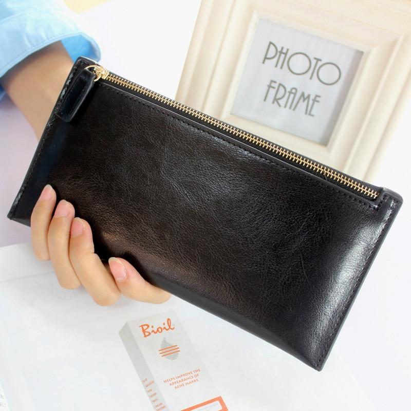 mulheres carteiras bolsas de couro Composição : Genuine Leather