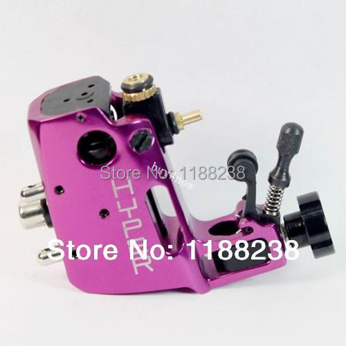 Professional Stigma Hyper V3 CNC Rotary Tattoo Machine Rose Red Alloy tattoo gun Liner Shader Top Free shipping high quality stigma machine hyper v3 rotary tattoo machine blue color swiss motor gun for body art supply free shipping