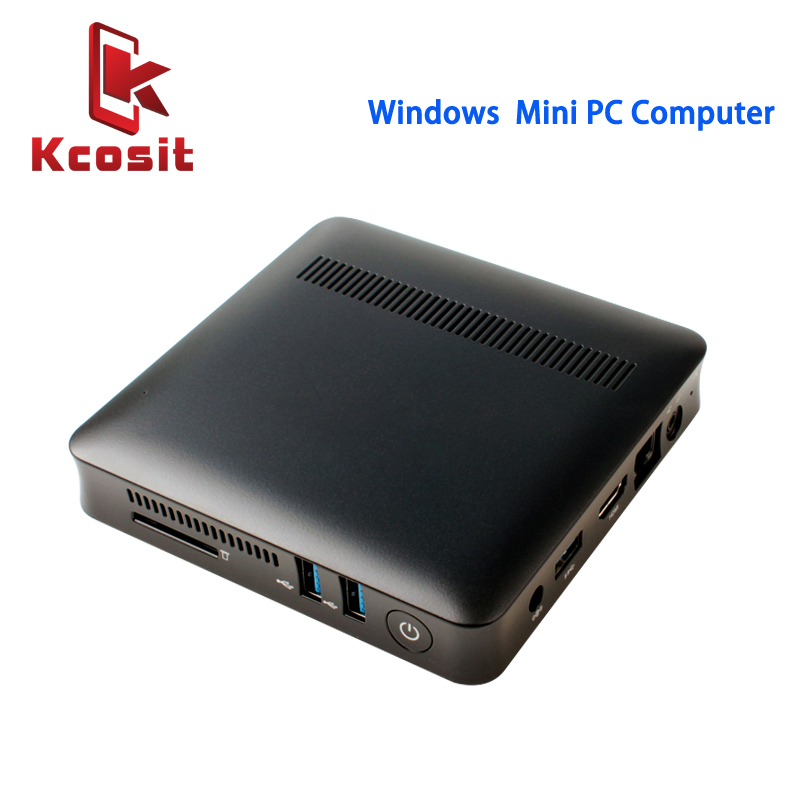 Mini PC Desktop Computers License Windows 10 Linux Ubuntu All In One PC Intel Z8350 2GB RAM 32GB ROM HDMI Media Box BT USB 3.0
