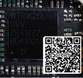 2pcs/lot Original WTR1625L for iphone 6 plus 6+ IF chip IC U_WTR_RF