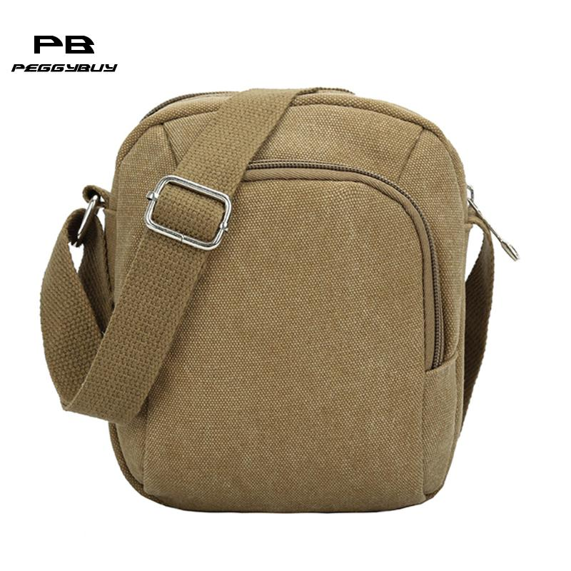 2018 Famous Brand Canvas Men Shoulder Bag Casual Business Satchel Mens Messenger Bag Vintage Men's Crossbody Bag bolsas male
