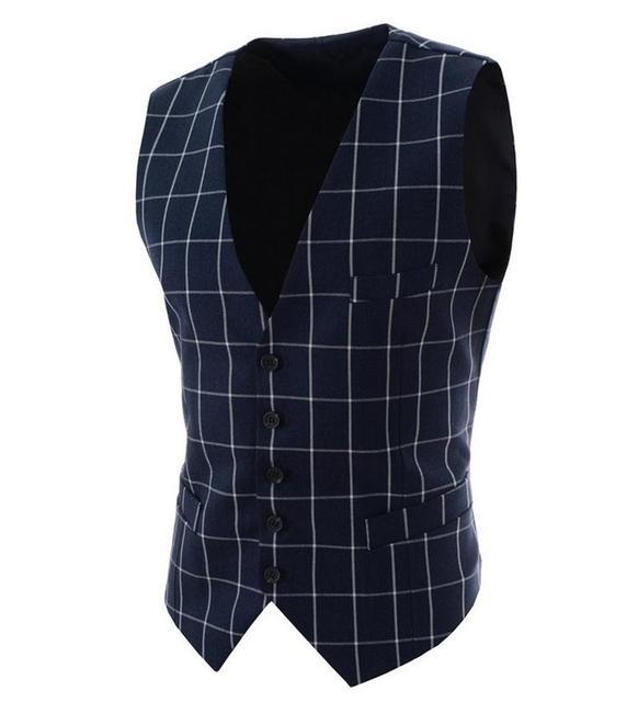 2016 New High quality Men's Suit Vest  Dress Vests Men casual Waistcoat Casual Business Jacket Tops