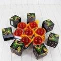 Tamaño grande 7.5 CM DragonBall 7 Estrellas Bola Cristalina de Dragon Ball Z Balls Modelo Muñeca de Juguete de Alta Calidad Caja de Empaquetado
