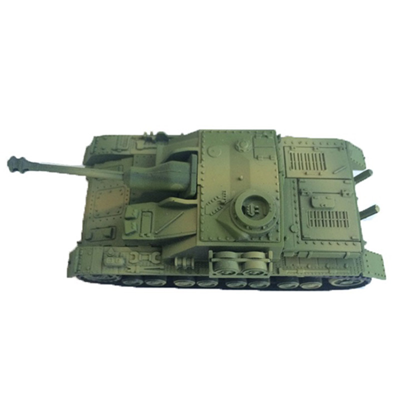 4D Model Building Kits Assembly Sturmgeschutz Iv Tank Assault Educational Toys Collection High-Density Material