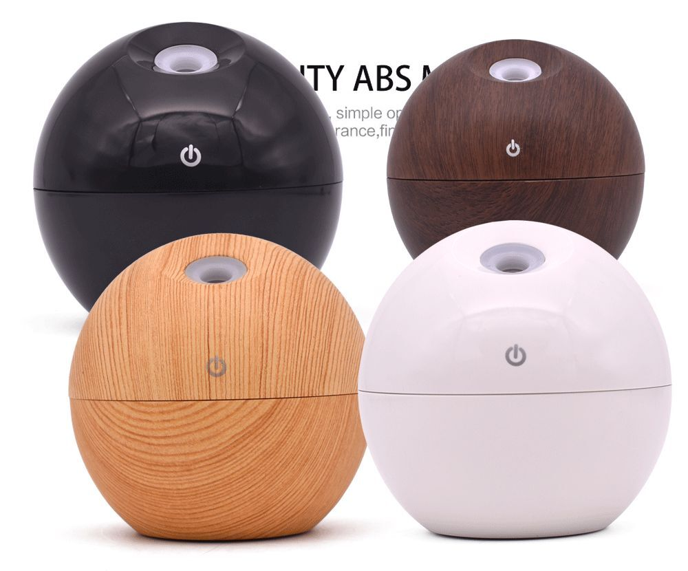 P Spherical Portable Ultrasonic Humidifier Ultra-quiet Moisture Air Purifier, Suitable For Home And Office Aromatherapy Machine